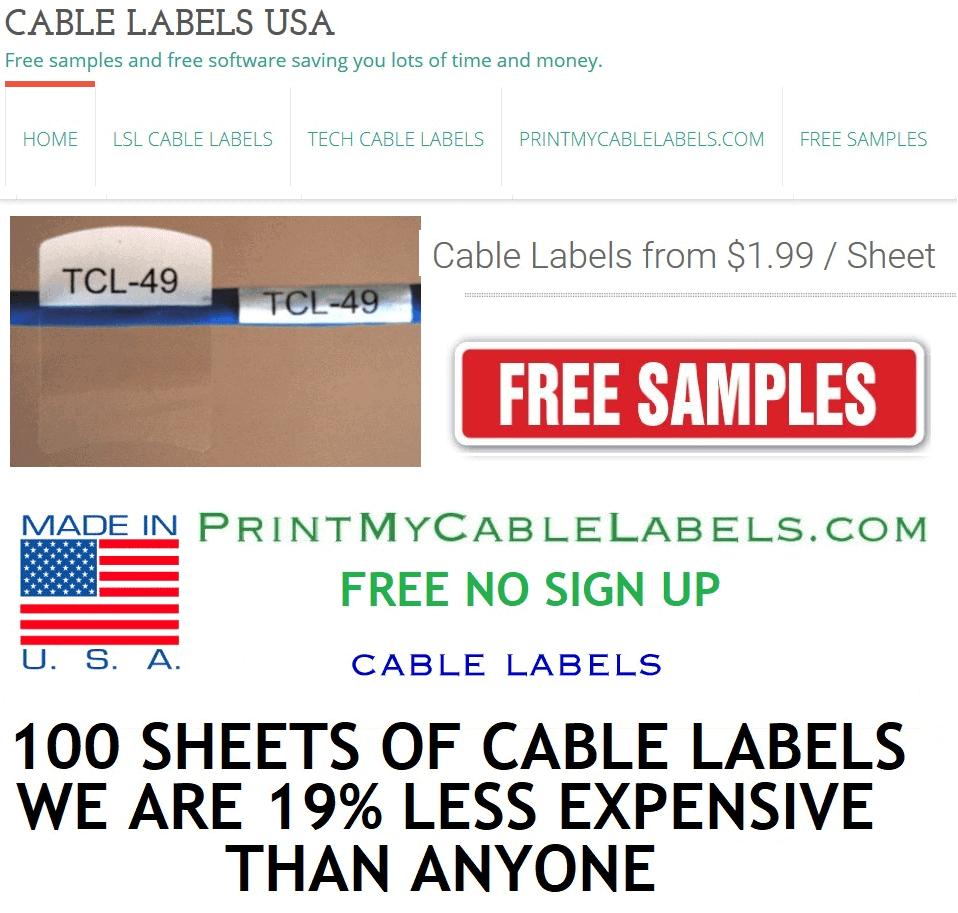 #cablelabels